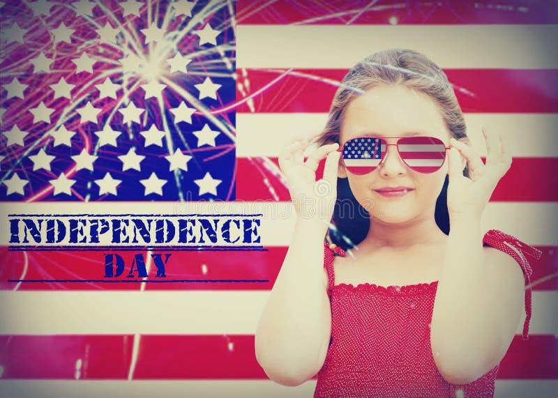 美国独立日在美国 免版税库存照片