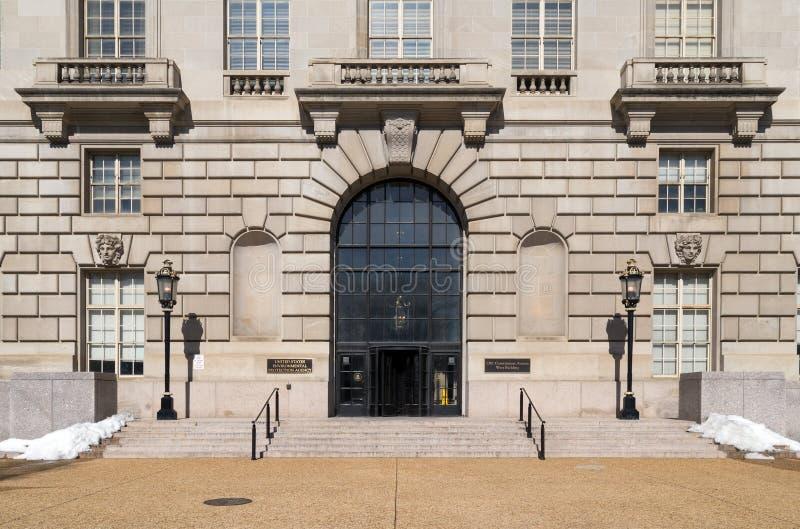 美国环境保护局,华盛顿特区 免版税库存图片