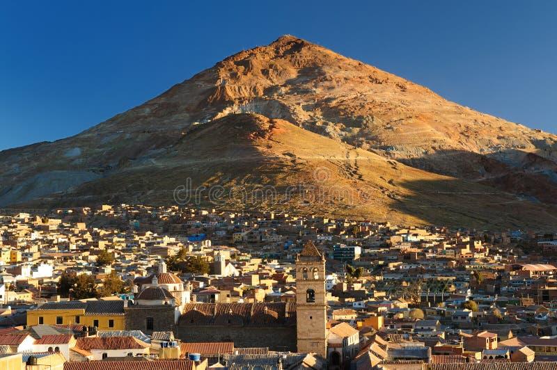 美国玻利维亚南的波托西 免版税库存照片
