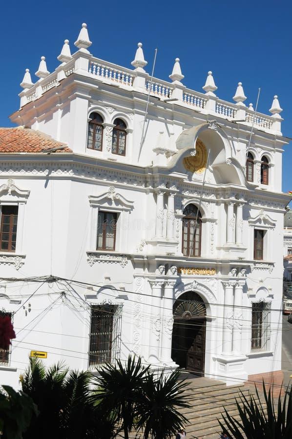 美国玻利维亚南苏克雷 免版税图库摄影