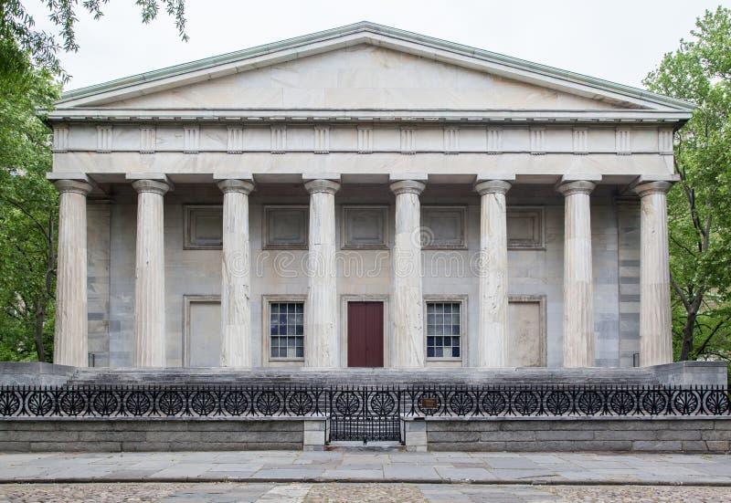 美国的第二家银行 免版税库存图片