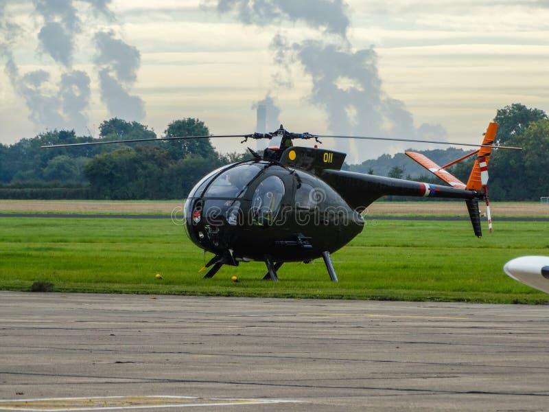 美国空军休斯OH-6印第安种的小马 库存照片