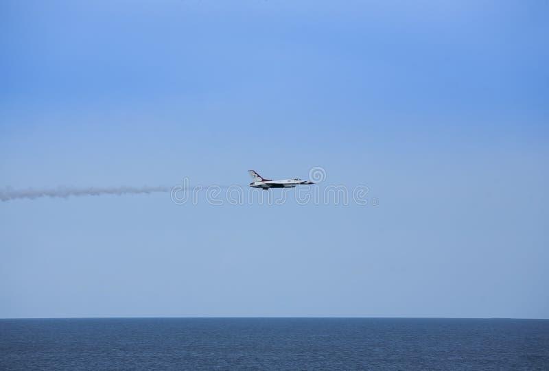 美国空军队雷鸟喷气机 图库摄影