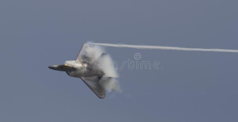 美国空军F-22猛禽 免版税库存照片