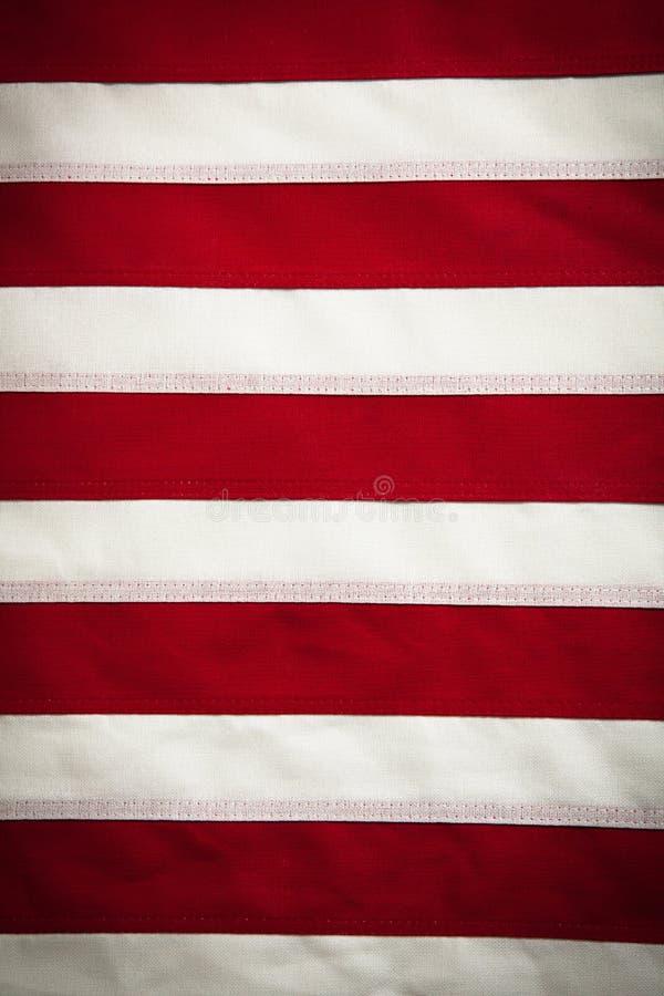 美国空白背景标志红色的数据条 免版税库存照片