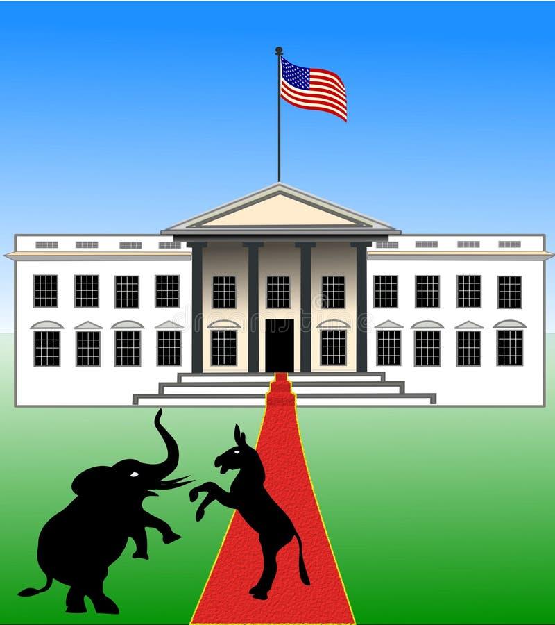 美国竞选2016年 库存例证