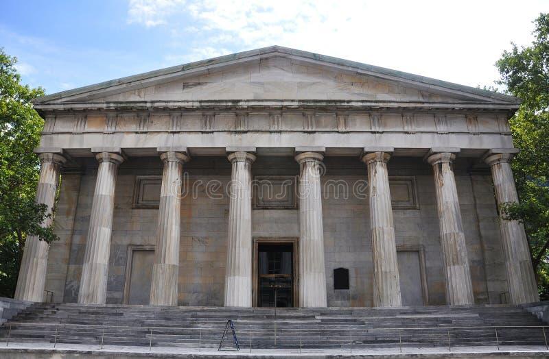 美国第二银行在费城 免版税图库摄影