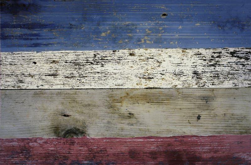 美国红、白、蓝星和条纹 库存照片