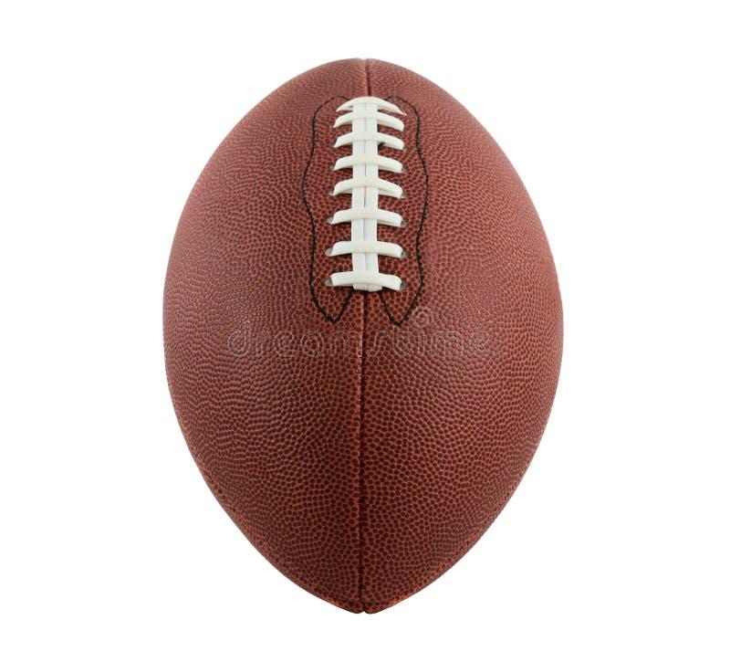美国经典橄榄球样式视图 免版税库存照片