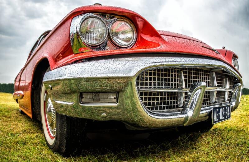 美国经典肌肉汽车 库存图片