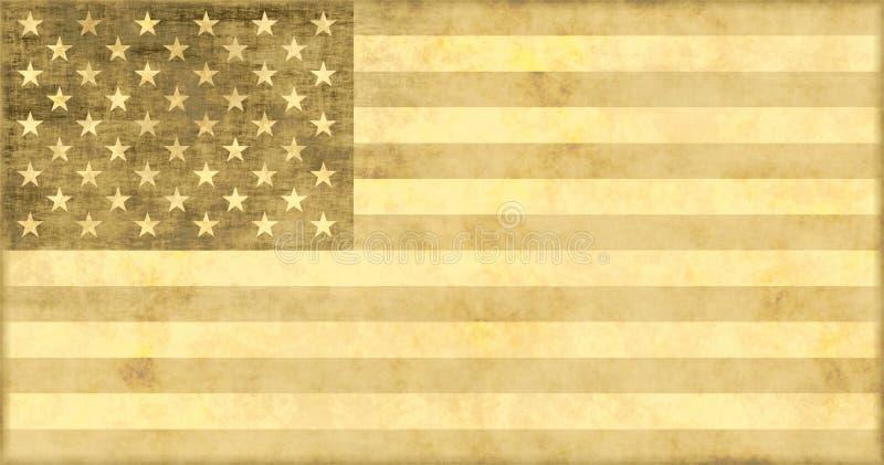 美国经济退色 皇族释放例证