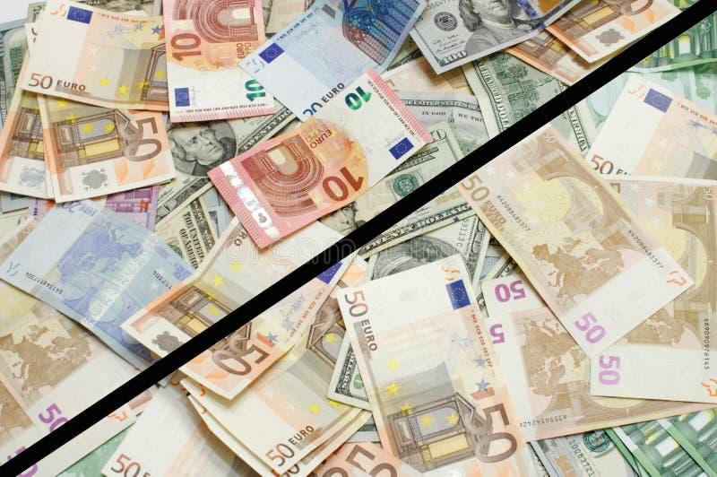 美国美元欧洲范围xxxl 免版税图库摄影