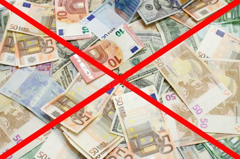 美国美元欧洲范围xxxl 免版税库存照片