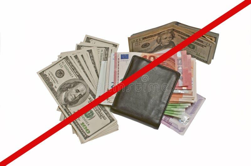 美国美元欧洲范围xxxl 库存照片