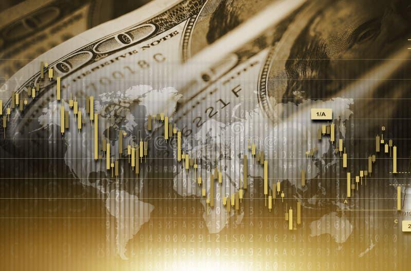 美国美元价值概念 免版税库存照片