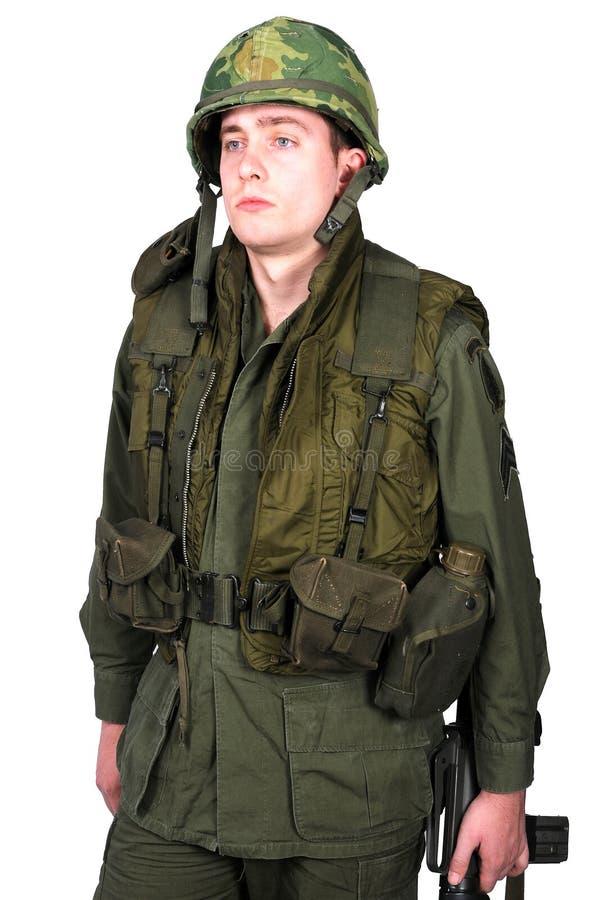 美国美国兵越南战争 库存图片