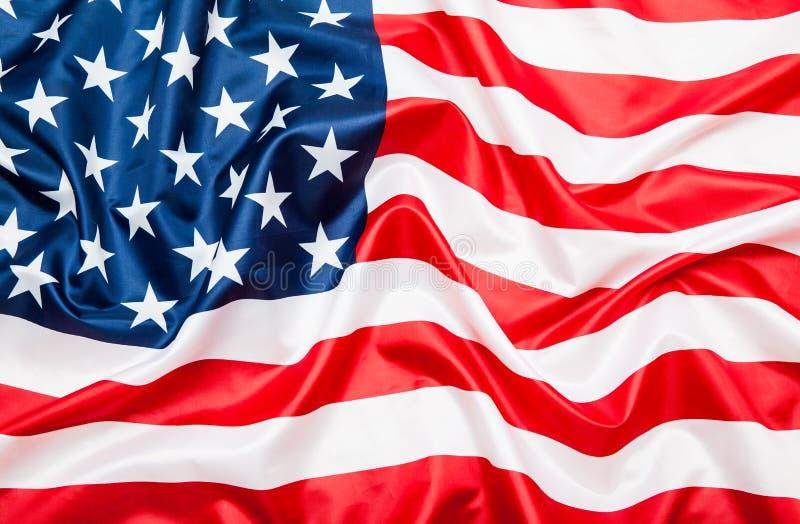 美国美国旗子 库存图片