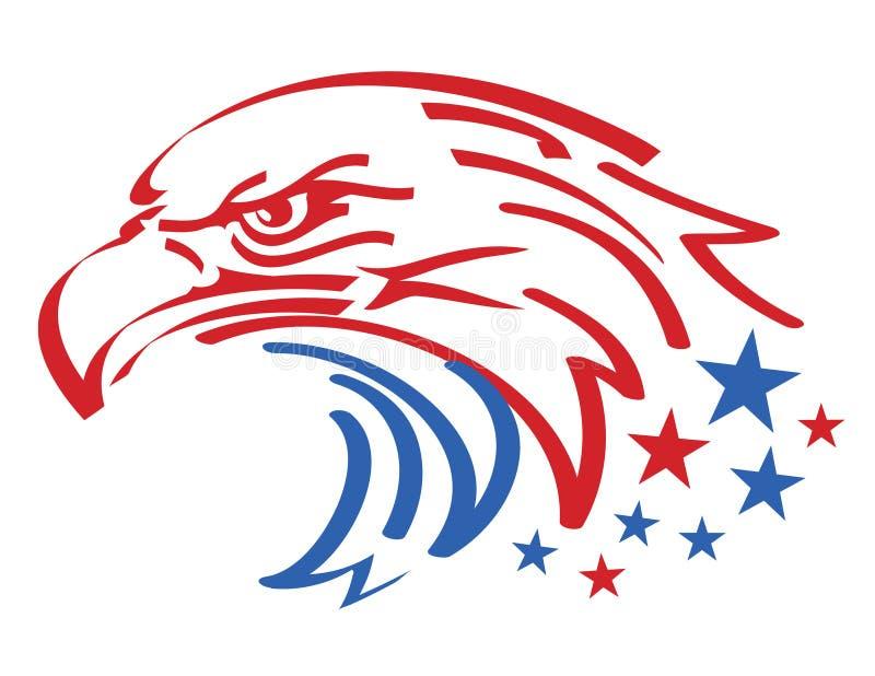 美国老鹰 免版税库存图片