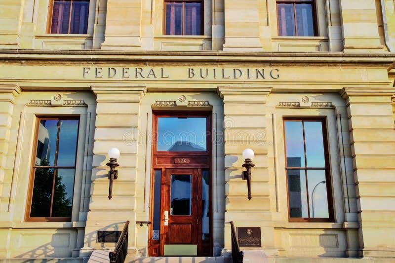 美国联邦大厦 免版税库存图片