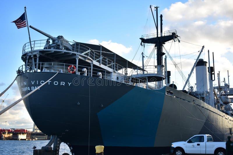 美国胜利船坦帕湾 免版税库存照片