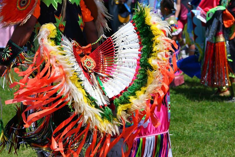 美国舞蹈印地安人 图库摄影