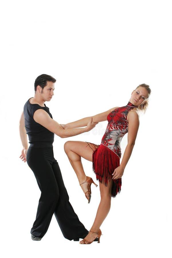 美国舞蹈拉丁 库存照片