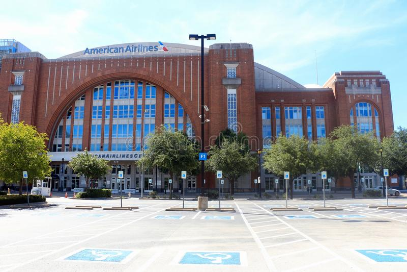 美国航空中心达拉斯得克萨斯 免版税库存照片