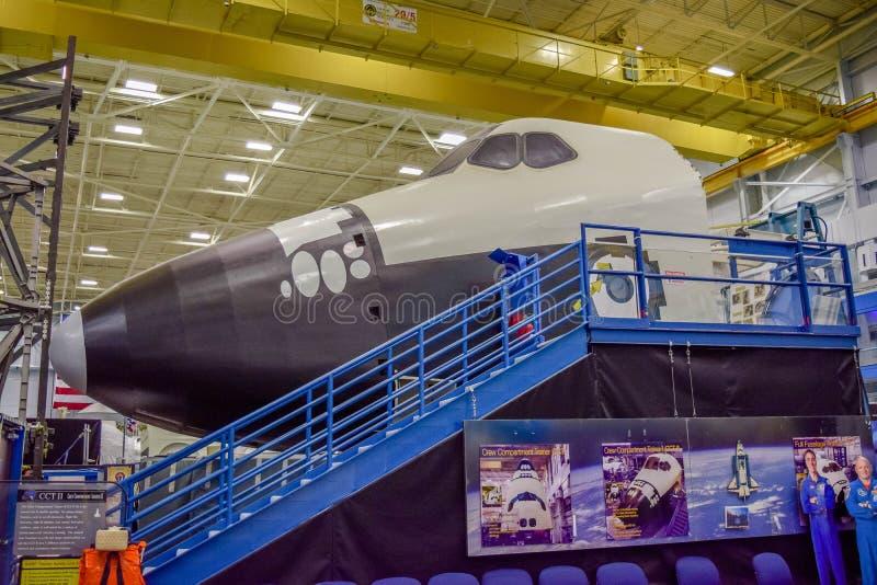 美国航空航天局梭训练大模型 免版税库存图片