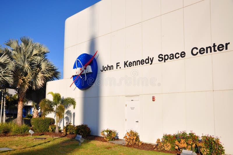 美国航空航天局约翰F 肯尼迪航天中心,佛罗里达 免版税库存图片