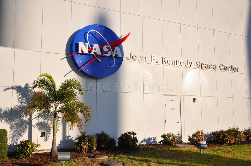 美国航空航天局约翰F 肯尼迪航天中心,佛罗里达 库存图片