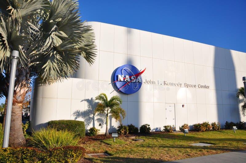 美国航空航天局约翰F 肯尼迪航天中心,佛罗里达 免版税图库摄影