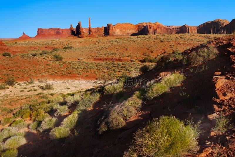 美国西部、国立公园和纪念碑 库存图片