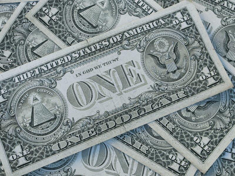 美国货币背景 美利坚合众国元 美元背景 免版税库存照片