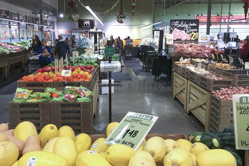 美国达拉斯 — 2018年12月27日:达拉斯中央市场 库存图片