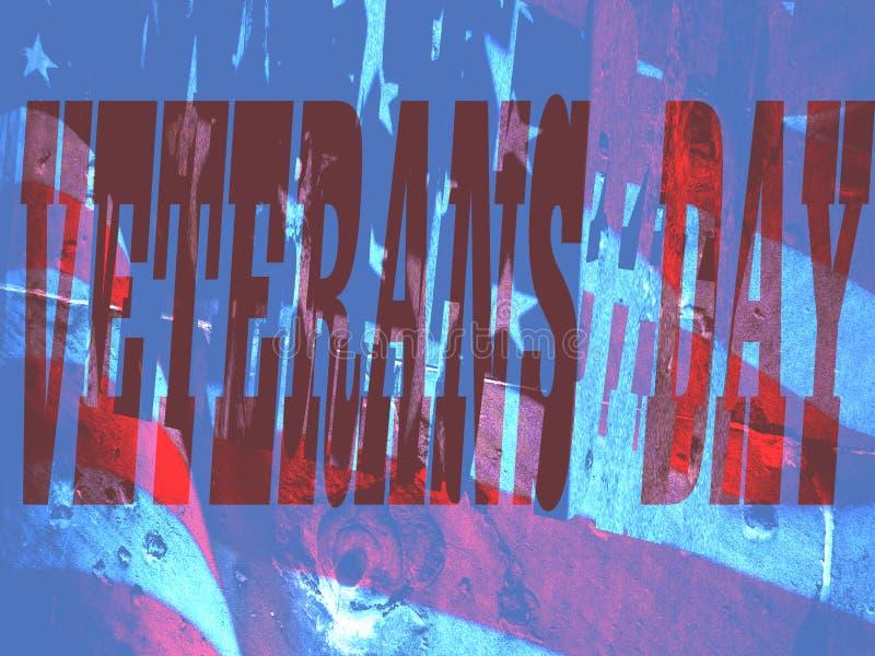 美国退伍军人日背景 免版税库存照片