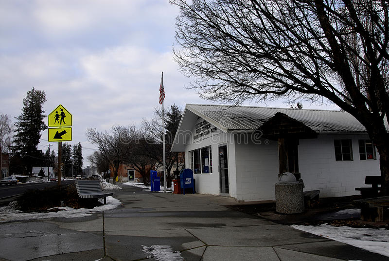美国邮局联合镇 库存照片