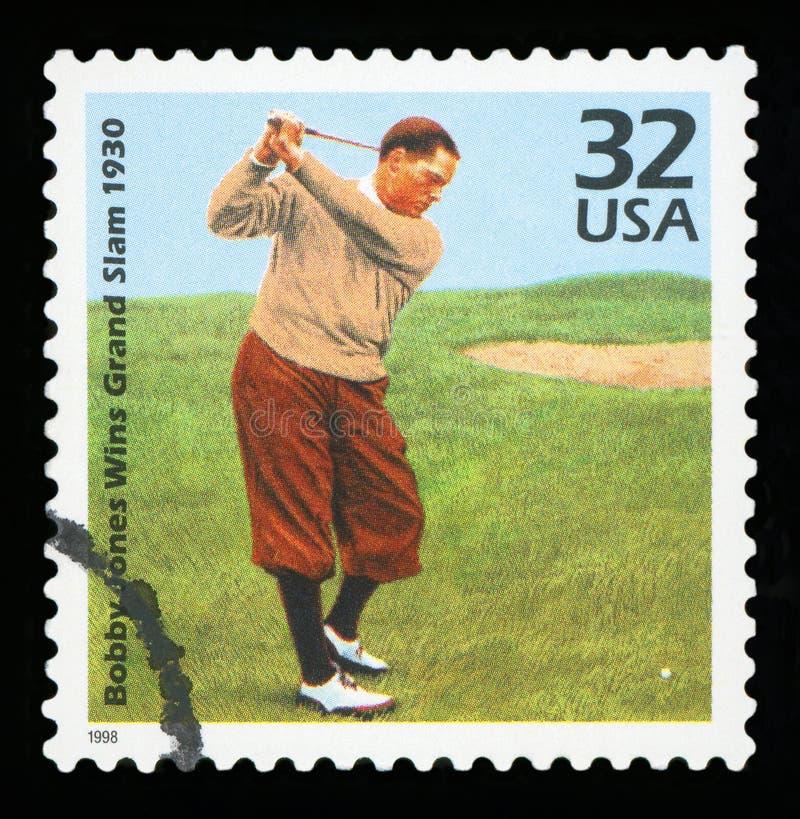 美国邮票 免版税图库摄影
