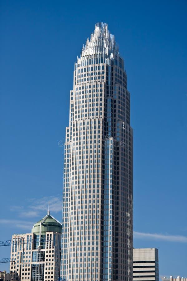 美国银行夏洛特塔 库存图片