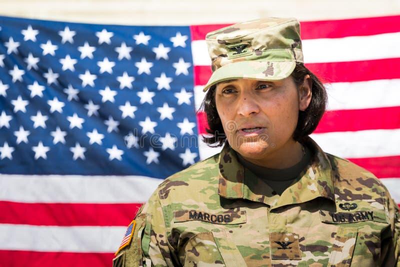 美国陆军战士 免版税库存照片