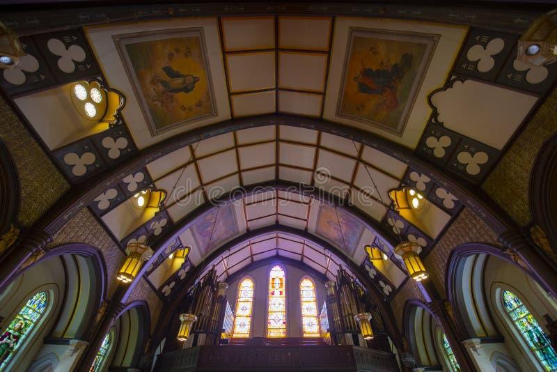 美国马萨诸塞州布鲁克林的圣玛丽 图库摄影
