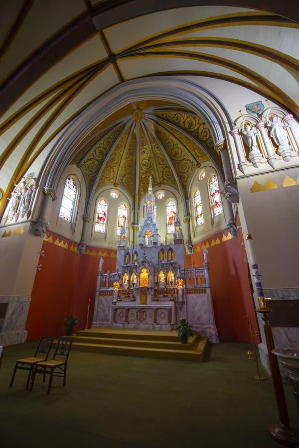 美国马萨诸塞州布鲁克林的圣玛丽 免版税库存照片
