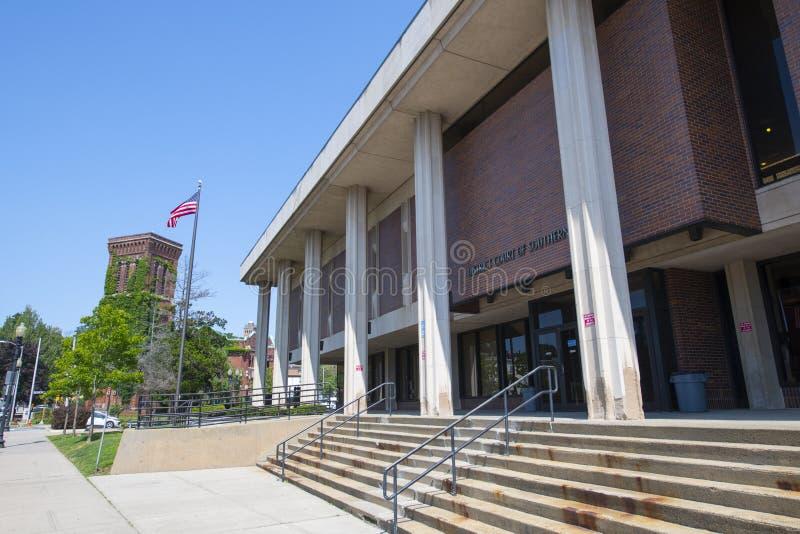 美国马萨诸塞州林恩区法院 图库摄影