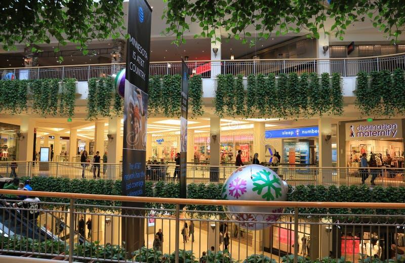 美国,布鲁明屯,明尼苏达,美国的偶象购物中心 免版税库存照片