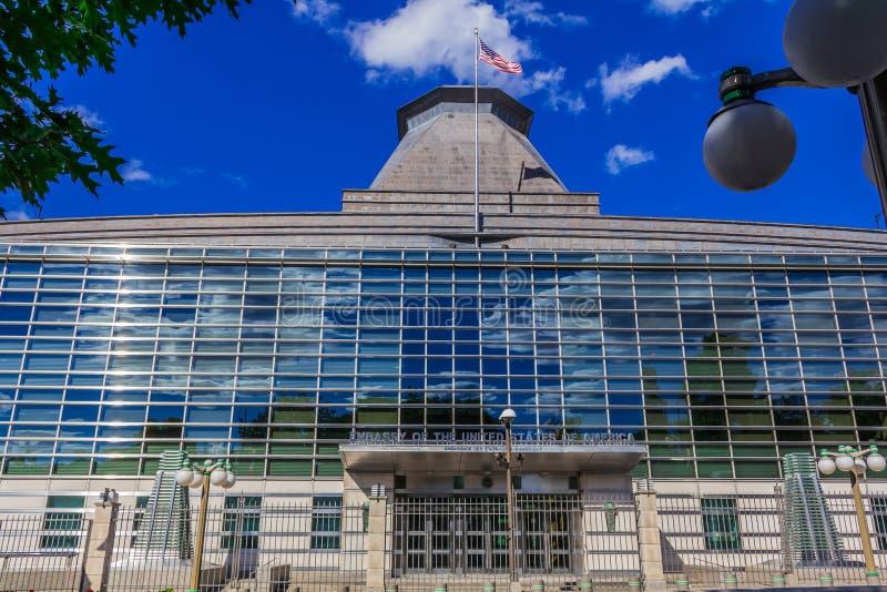 美国,渥太华的使馆 库存图片