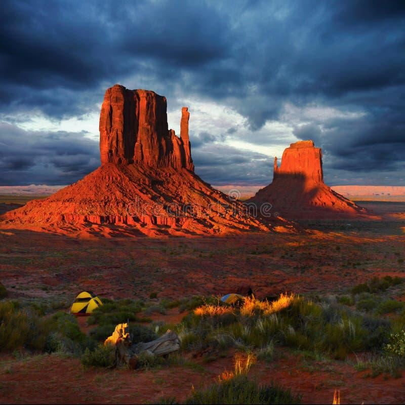 美国,美国,美国纪念碑谷,亚利桑那犹他 免版税库存图片