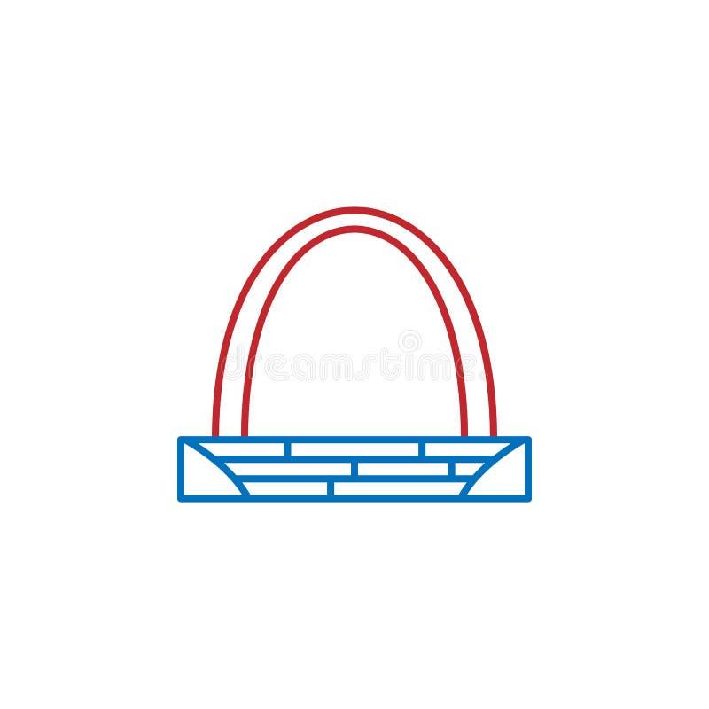 美国,门户曲拱象 美国文化象的元素 : ?? 皇族释放例证