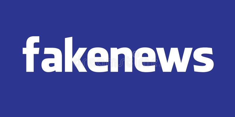美国, 2017年10月-假俄国人Facebook帐户调查继续 向量例证