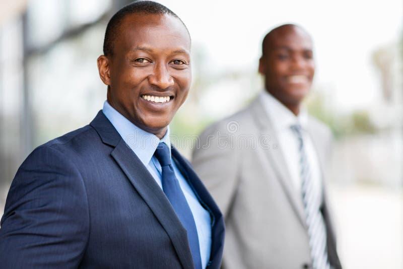 美国黑人的生意人 免版税库存图片