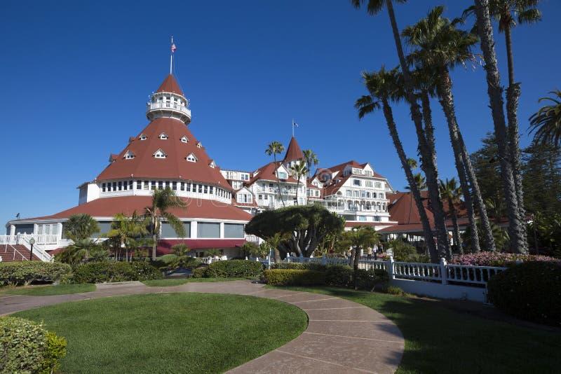 美国-加利福尼亚-圣地亚哥-旅馆科罗纳多 库存图片