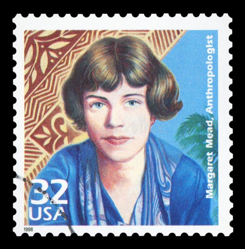美国-邮票 库存图片